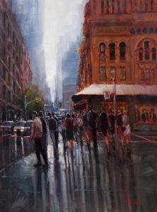 Local Artist Prize   Hiren Patel, Winter Rain
