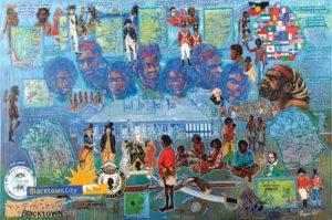 Aboriginal Artist Prize   Danny Eastwood, How Blacktown Got It's Name