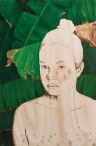 Young Painter Prize   Marikit Santiago, Mestiza