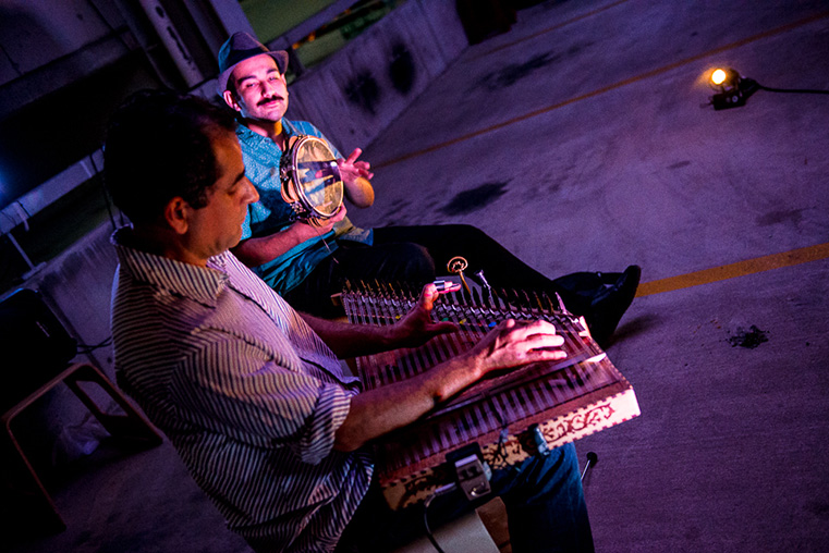 Mahmmd Lelo, recipient of a 2016 Creative Arts Fund grant, performs in Home Country with James Tawadros
