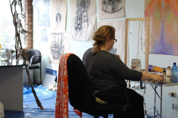 Artist-in-Residence | Sarah Dahia