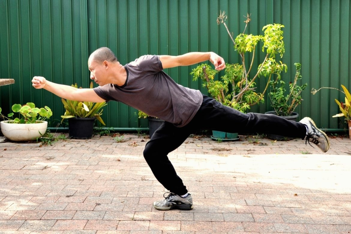 Binh Duy Ta holding stance