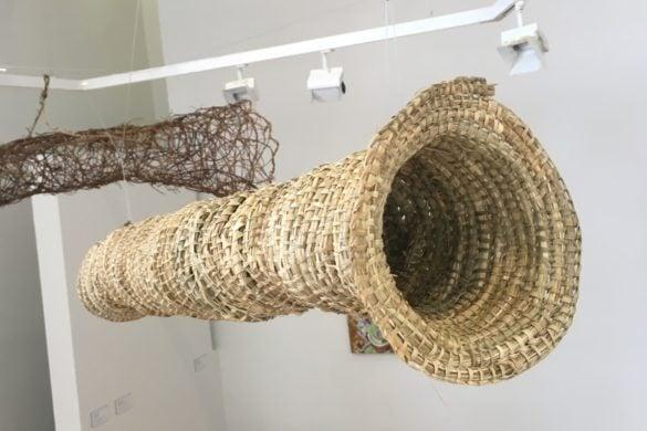 Woven fish nets