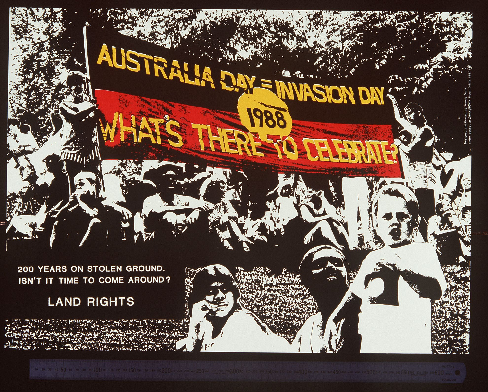 Poster about Invasion Day