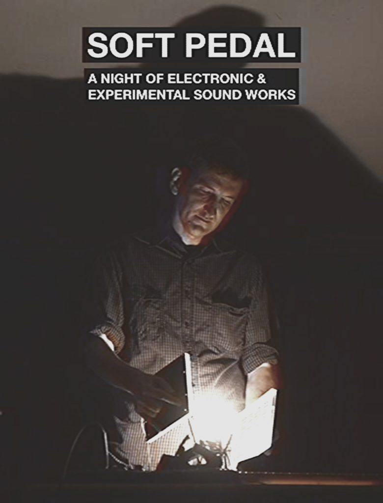 Man working with light and electronics